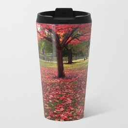 Red Maple Tree Travel Mug