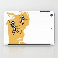 arctic monkeys iPad Cases featuring Monkeys by Josè Sala
