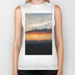Sunset in Abstract II Biker Tank