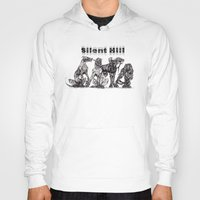 silent hill Hoodies featuring Silent Hill Hellhounds by nightriot