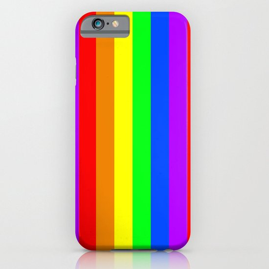 Rainbow Flag - High Quality image iPhone & iPod Case
