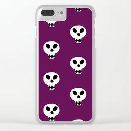 Print 111 - Halloween Clear iPhone Case
