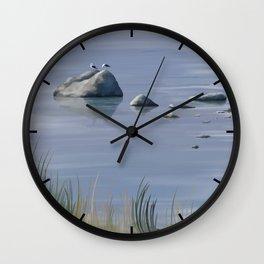 Seagull Siesta Wall Clock