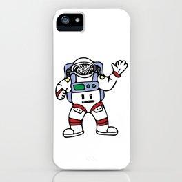 Astronaut Cosmonaut Cosmos Traveller Spacesuit Design iPhone Case