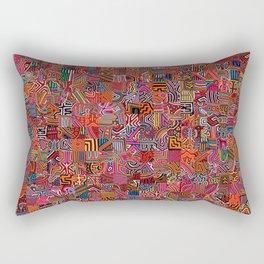 Mola Montage Rectangular Pillow