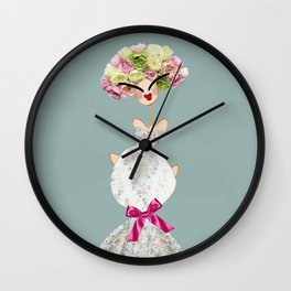 FLOWER BOUQUET Wall Clock