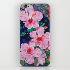 Hibiscus iPhone & iPod Skin