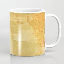Sandy brown abstract wash painting Coffee Mug