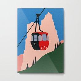 Allgäu Alps Metal Print