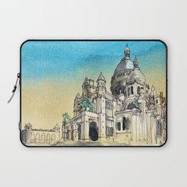 Basilica Sacre Coeur Montmartre Paris Laptop Sleeve
