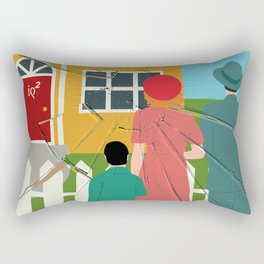 Income Inequality Impairs The American Dream Of Upward Mobility Rectangular Pillow