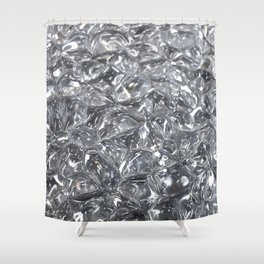Glassy Shower Curtain