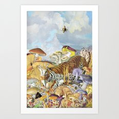 Tigress Art Print