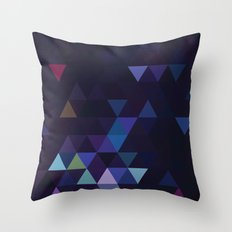 Simple Sky - Midnight Throw Pillow