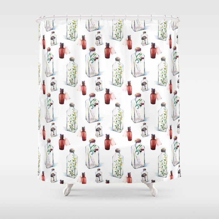 Witchs Brew 1 Shower Curtain By Naturemagick