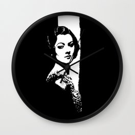 Myrna Loy Is Gorgeous Wall Clock