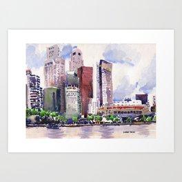 20140318 Cityscape Art Print
