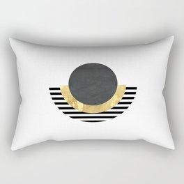 Modern Geometric Egyptian Print Rectangular Pillow