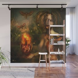 """""""Arcanum: The two paths"""" Wall Mural"""