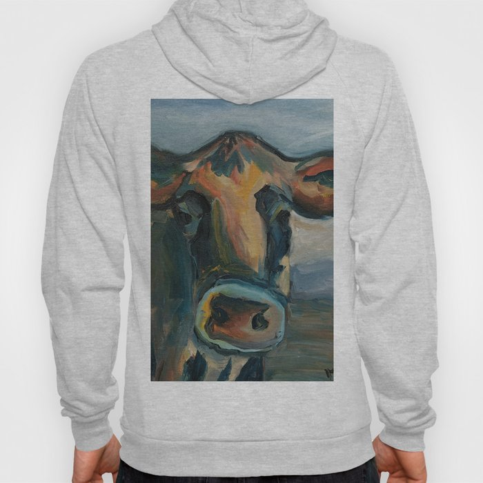 Cow in Field Hoody