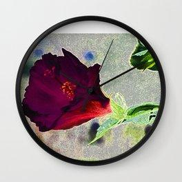 Lucky Flower Wall Clock