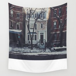 Snowy Chicago Wall Tapestry