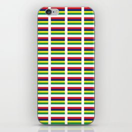 Flag of Mauritius – maurice,mauricien,port-louis,mauritian,rodrigues,creole,dodo,indian ocean iPhone Skin
