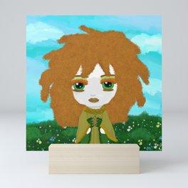 Little Fierce Princess - Keltie (Kira's World) Mini Art Print