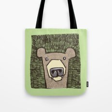 dack the bear Tote Bag