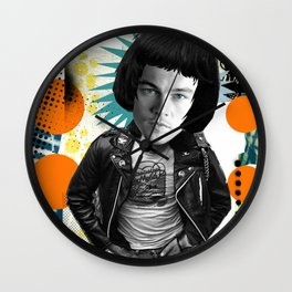 COLLAGE: Leo Di Caprio Ramone Wall Clock