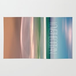 LOVE THE OCEAN II Rug