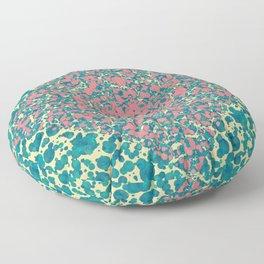 abstract 10 Floor Pillow