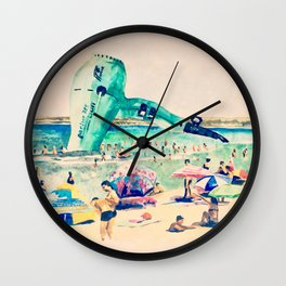 The Catcher in the Sea Wall Clock