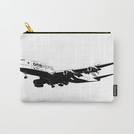 One World Boeing 747 Sketch Carry-All Pouch