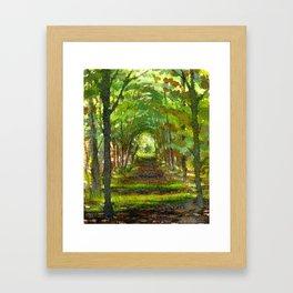 Briars Cedar Trail, Sept 22 Framed Art Print