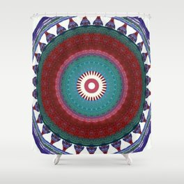 Internal Totem Shower Curtain