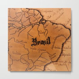 Brazil Expedition Metal Print