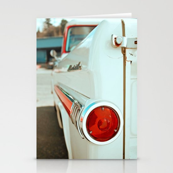 Fleetwood taillight Stationery Cards