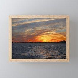 Changes on the Caloosahatchee I Framed Mini Art Print