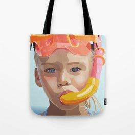 Snorkel Girl Tote Bag