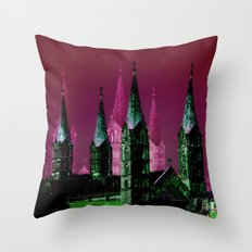 Bamberger Dom Throw Pillow