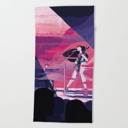 Haitus Kaiyote Beach Towel