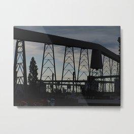 industrial art Metal Print