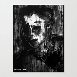 Pain Canvas Print