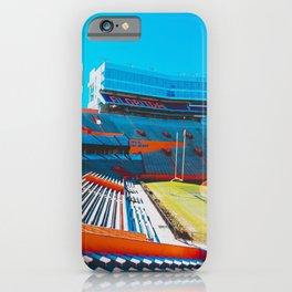 Gator Stadium ft a Glare, UF iPhone Case
