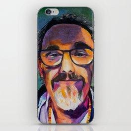 Portrait of the Artist Smirking iPhone Skin