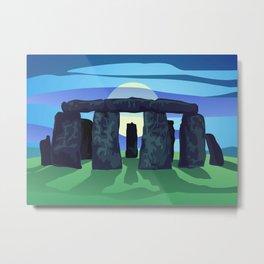Circle of Standing Stones Metal Print