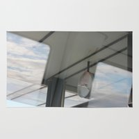copenhagen Area & Throw Rugs featuring Copenhagen Metro reflection by RMK Photography