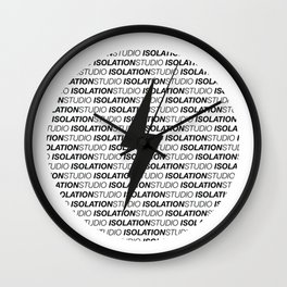 Isolation Studio Wall Clock