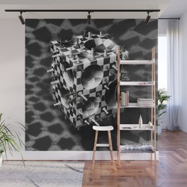 Fancy a Chess Cube? Wall Mural